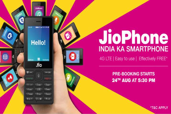 11b2f713a Here are the highlights of the Jio Phone pre-booking