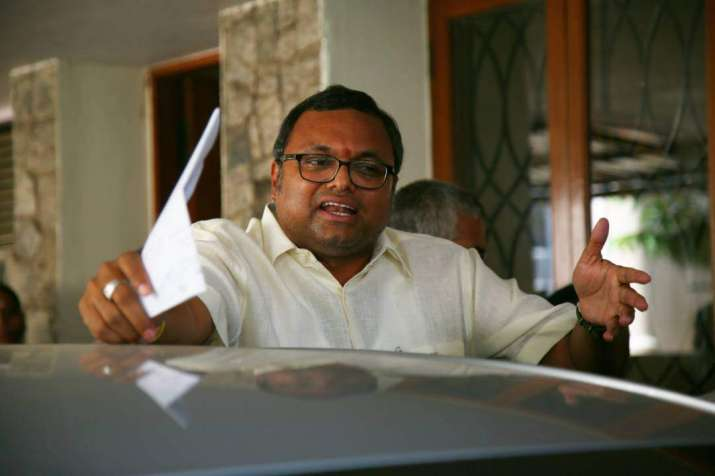 CBI questions Karti Chidambaram for second time
