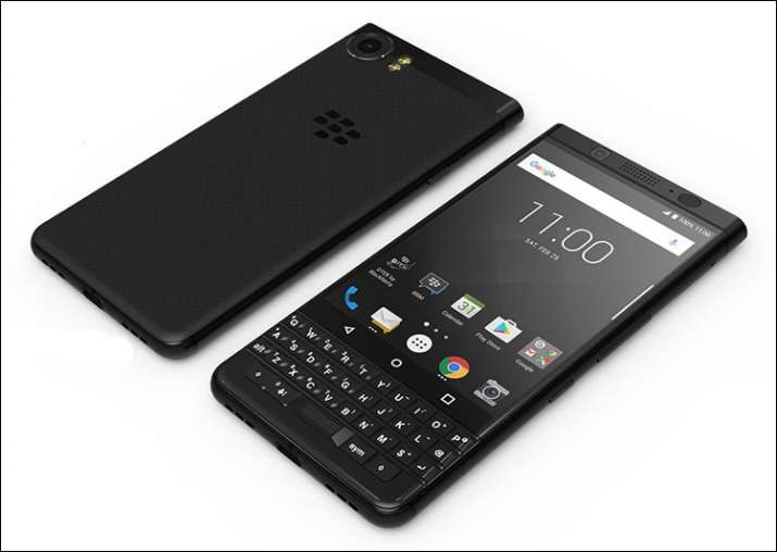 BlackBerry launches first dual SIM smartphone 'KEYone' in