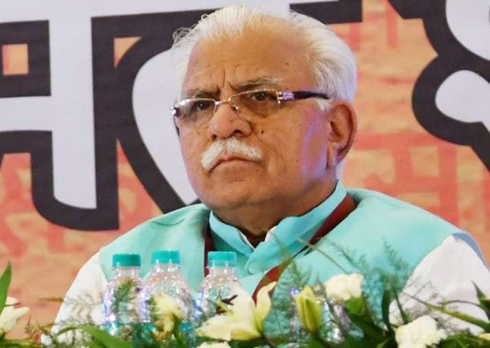 Haryana CM Manohar Lal