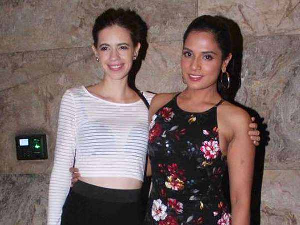 Kalki Koechlin, and Richa Chadha slept in a van during Jia