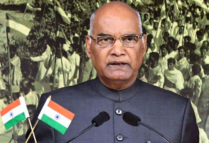 President Kovind addressing the nation on eve of India's