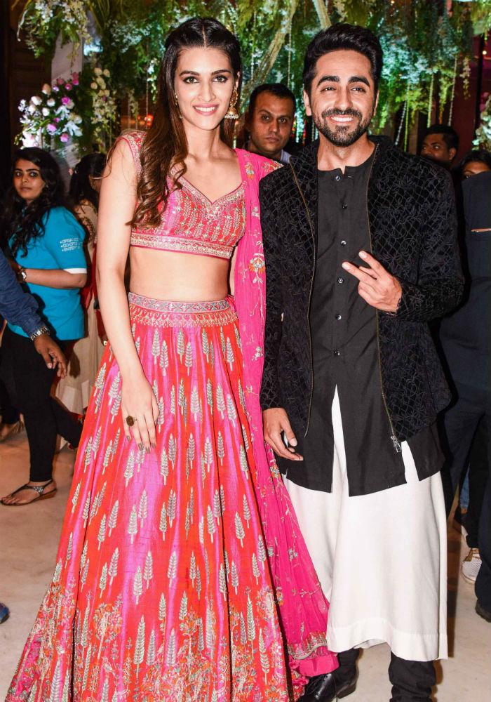 India Tv - Bareilly Ki Barfi stars Kriti Sanon and Ayushmann Khurrana