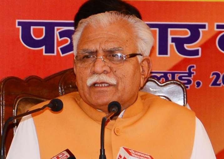 Dera violence: BJP rules out removal of Haryana CM Manohar