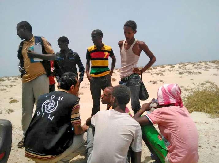 180 migrants thrown off boat near Yemen