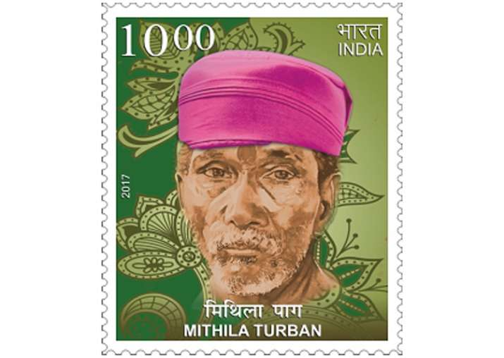 In a first, Mithila Paag featured on postal stamp