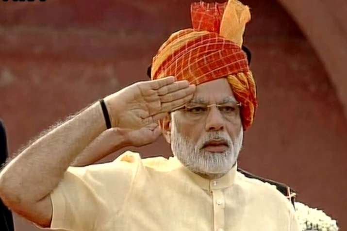 PM Modi addresses the nation from Red Fort