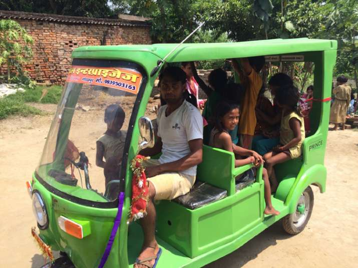 India Tv - Mrida has distributed e-Rickshaws to bring accessibility in rural areas