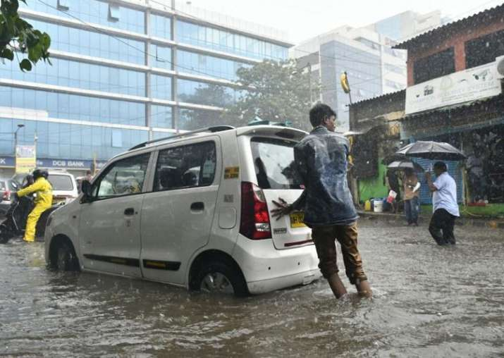 Rain fury in Mumbai