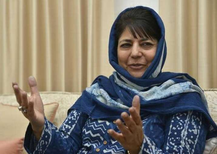 File pic of Jammu and Kashmir CM Mehbooba Mufti