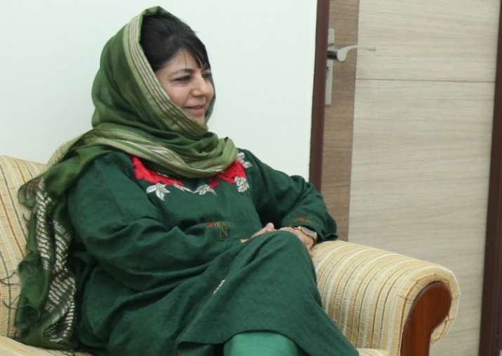 Jammu and Kashmir, Chief Minister Mehbooba Mufti