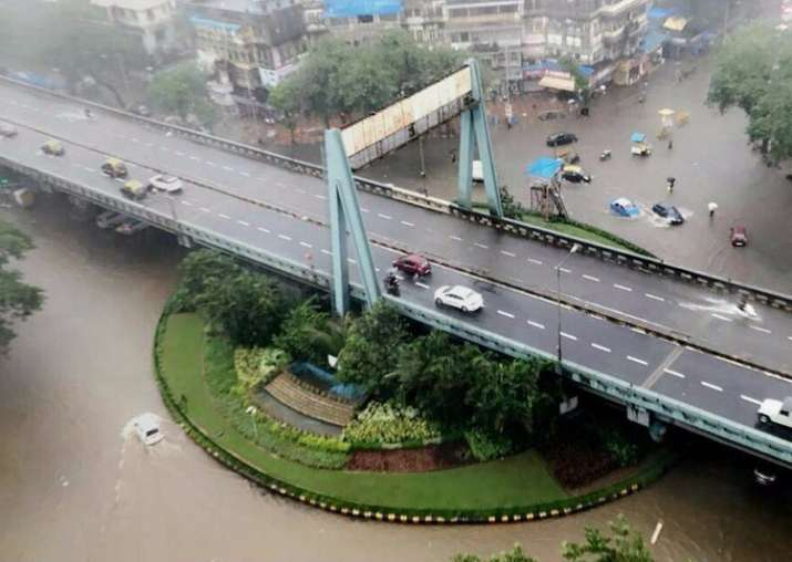 Spot videos: Mumbai faces rain fury, high alert sounded