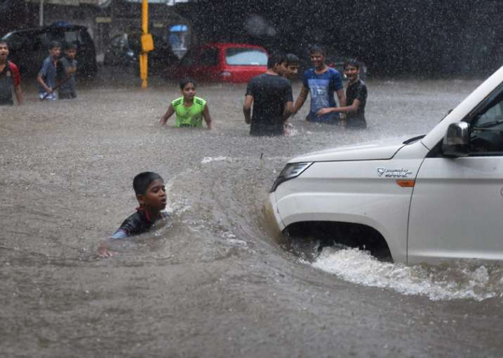 Videos: Heavy rainfall cripples normal life in Mumbai,