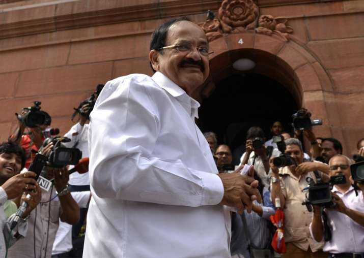 NDA's pick Venkaiah Naidu becomes 13th Vice-President of
