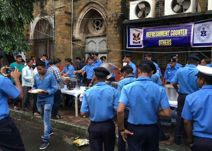 Rain fury in Mumbai: Navy opens community kitchens, food