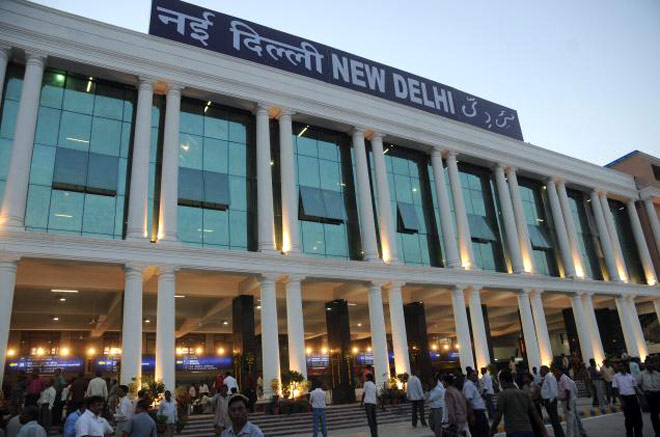Searches on at New Delhi Railway station after bomb threat