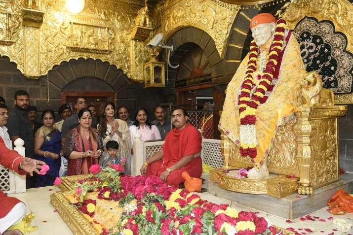 India Tv - Shilpa Shetty Kundra family