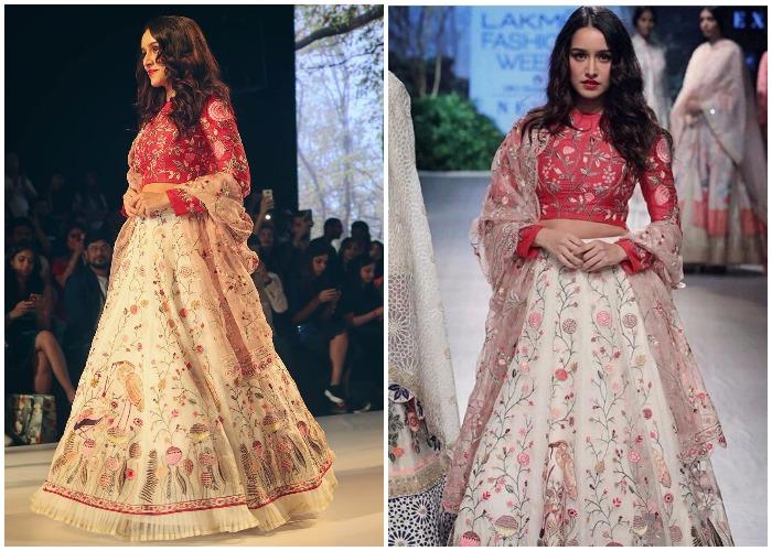 Lakme Fashion Week W F 2017 Shraddha Kapoor Walks The Ramp For Designer Rahul Mishra Lifestyle News India Tv