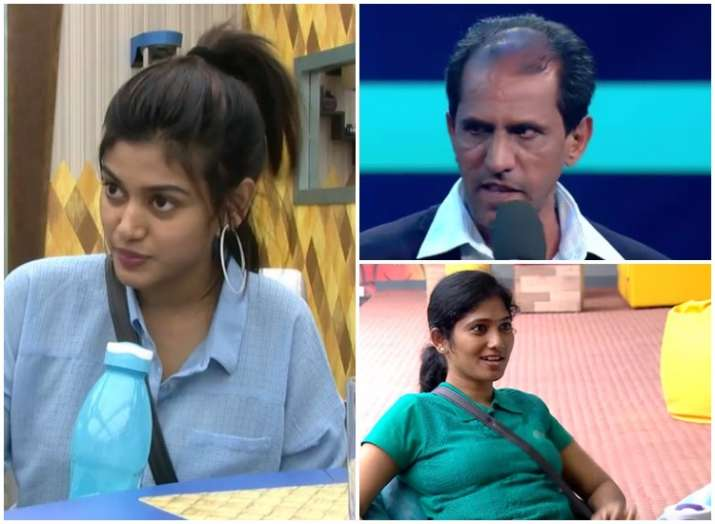 Bigg Boss TamilJulie, Vaiyapuri and Oviya nominated for