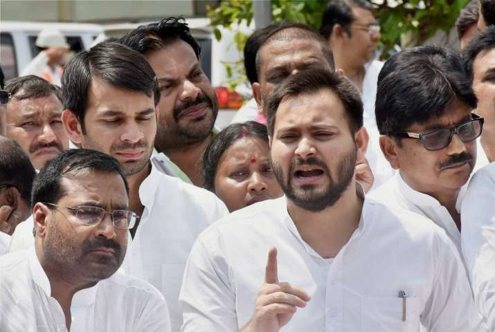Tejashwi Yadav today launched a blistering attack on Nitish