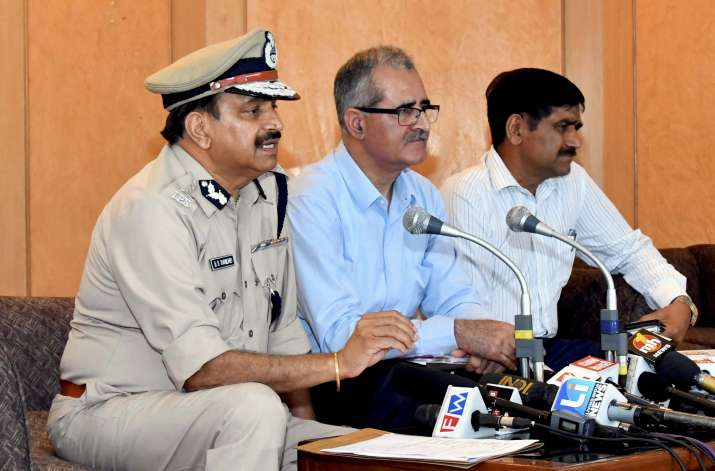 Haryana chief secretary D S Dhesi, addl CS Ram Niwas and