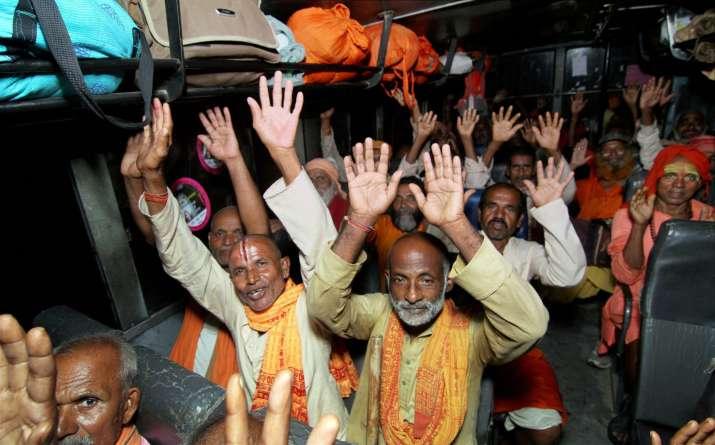 Amarnath yatra pilgrims