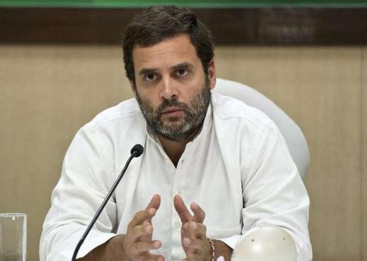 File pic of Congress vice-president Rahul Gandhi