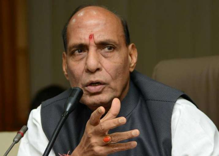 File pic of Home Minister Rajnath Singh