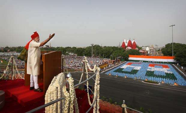 PM Modi will deliver his fourth speech from Red Fort