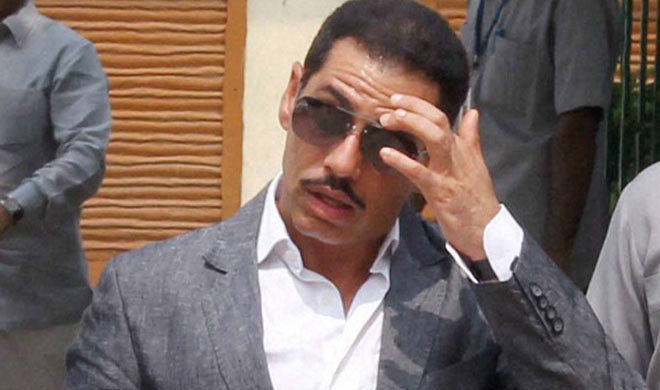 4 FIRs have been registered against Robert Vadra's company,