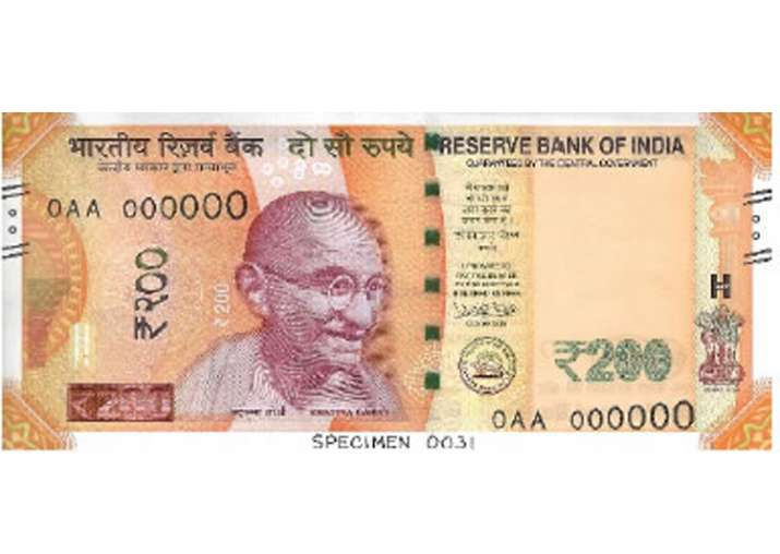 New series of Rs 200 notes will be issued tomorrow