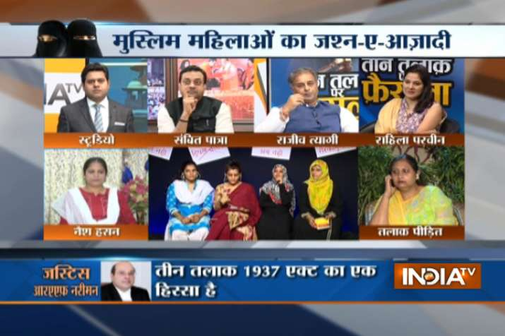 Triple Talaq Debate at India TV