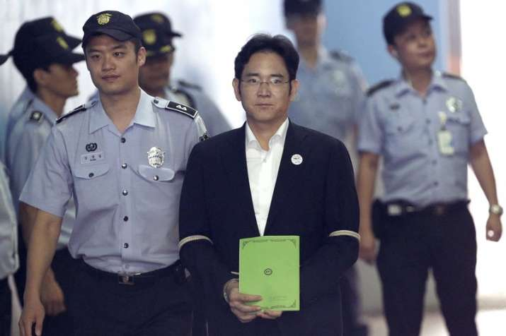 The court sentenced Lee to 5 years in jail for bribery and