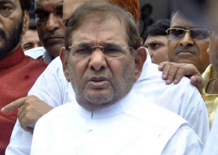File pic of Sharad Yadav