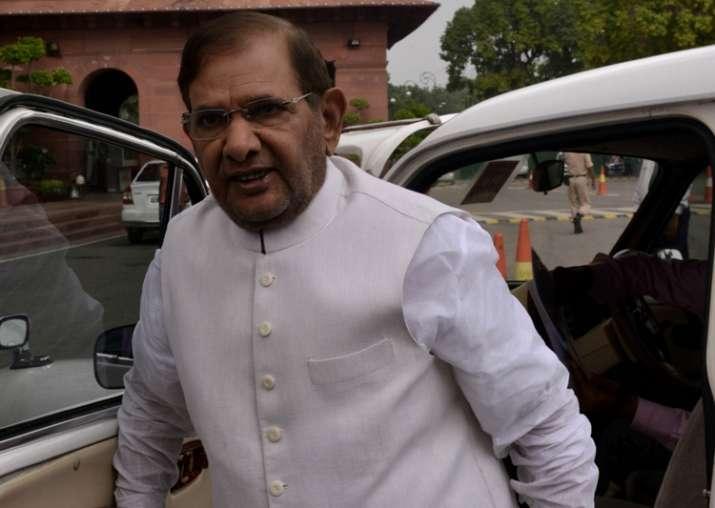 File pic of Sharad Yadav