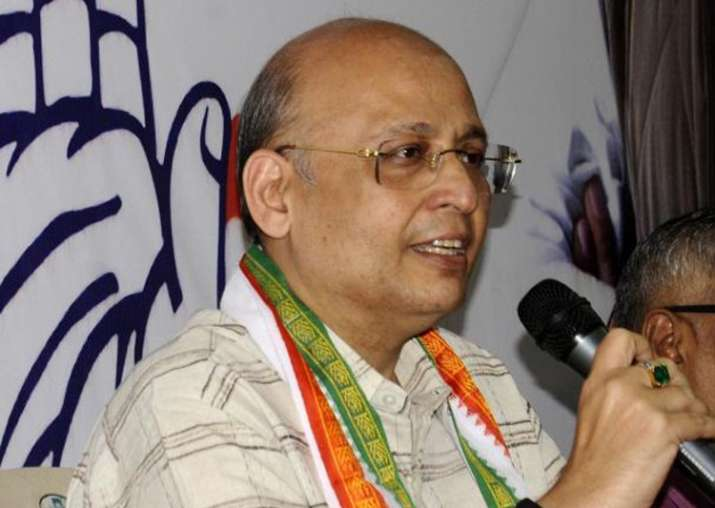 File pic of Congress spokesperson Abhishek Manu Singhvi