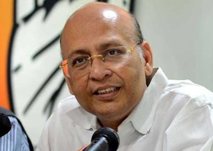 Congress spokesperson Abhishek Singhvi