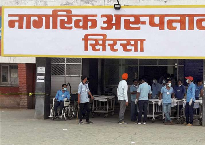 File pic - A view of civil hospital in Sirsa