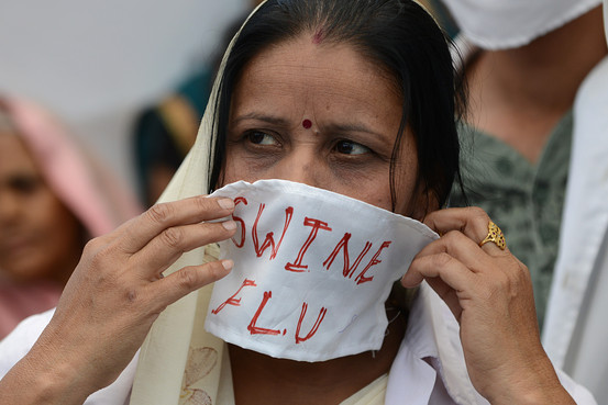 1,094 swine flu deaths across India so far this year: