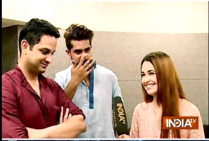 TV stars Suyyash Rai and Yuvika Chaudhary join Vikas