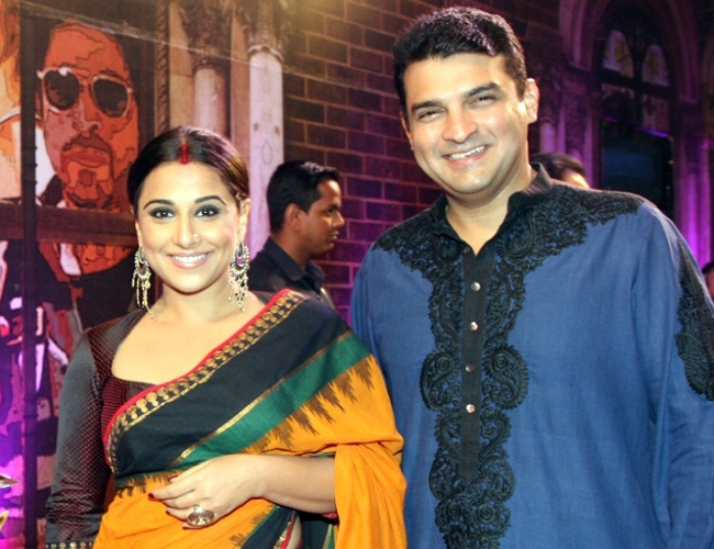 This is why Siddharth Roy Kapur won't cast wife Vidya Balan