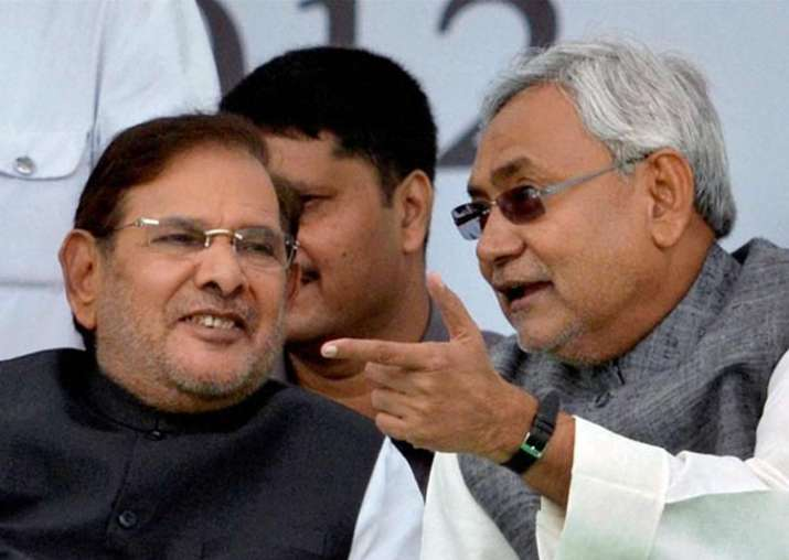 File pic of Sharad Yadav and Nitish Kumar