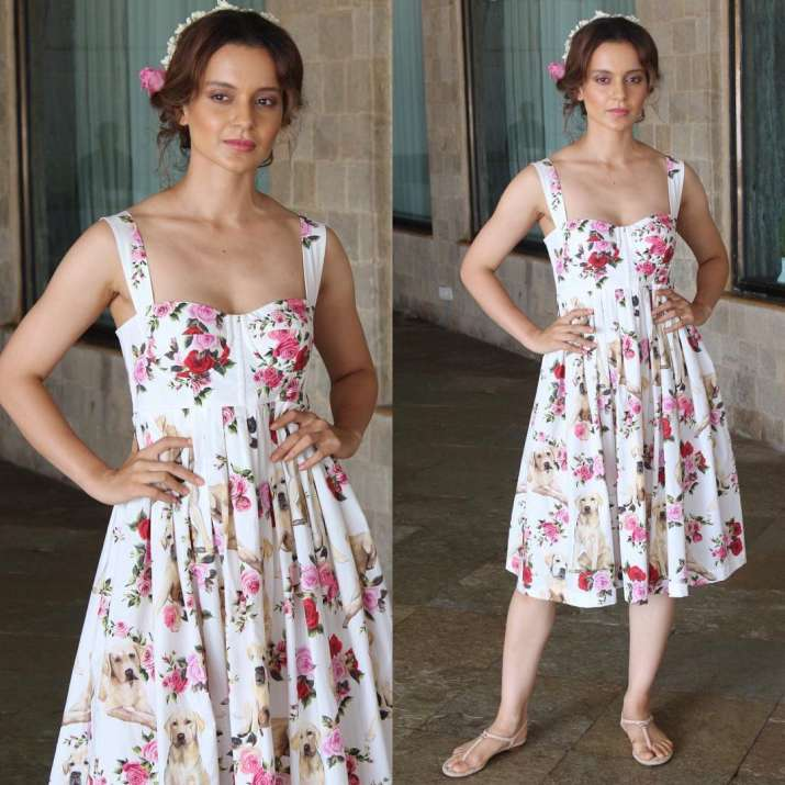 India Tv - kangana ranaut simran promotions