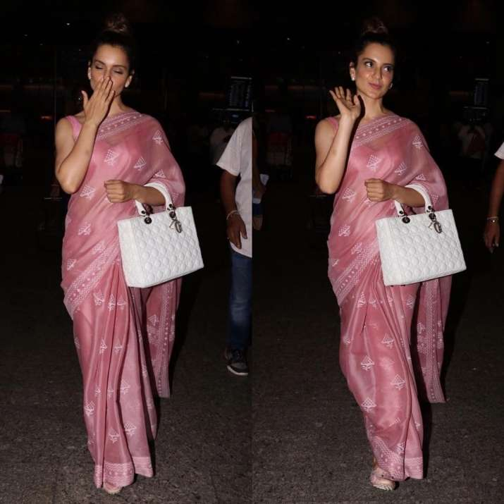 India Tv - Kangana Ranaut spotted at airport