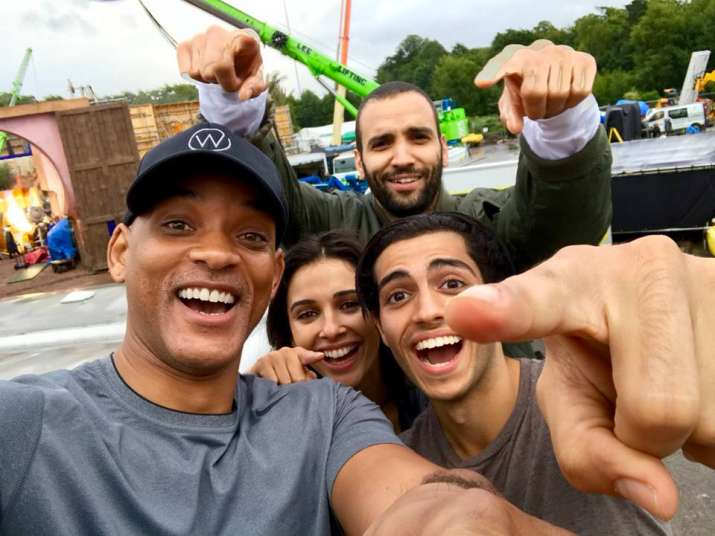 Aladdin: Will Smith shares first look of Disney's