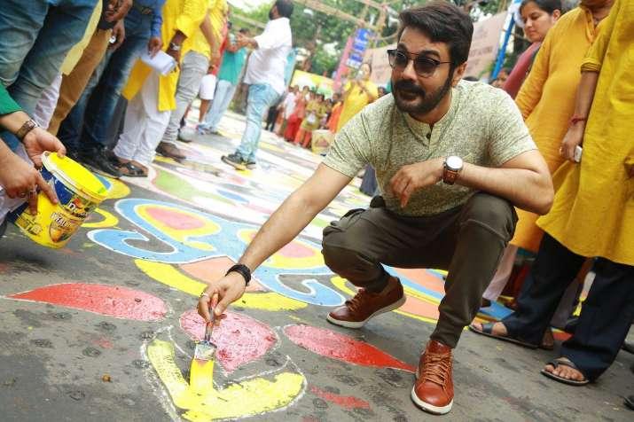 India Tv - Actor Prosenjit Chatterjee unveiled the initiative in Kolkata