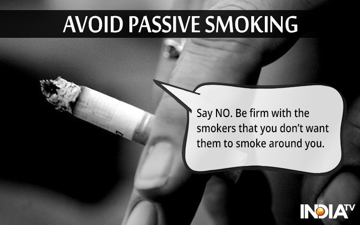 India Tv - say no to passive smoking