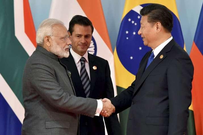 Modi-Jinping meet at BRICS Summit 2017