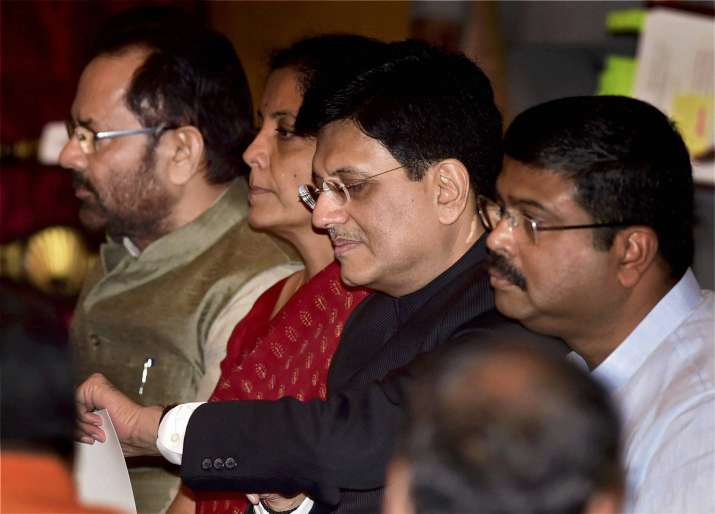Piyush Goyal was appointed Railways Minister replacing