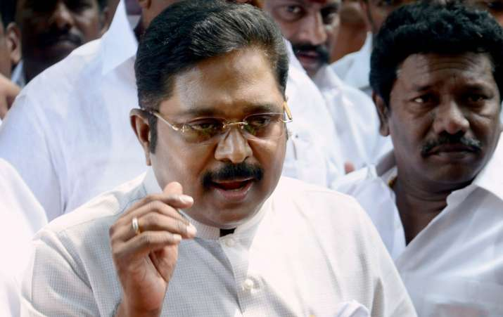 Dinakaran has established a considerable lead in the